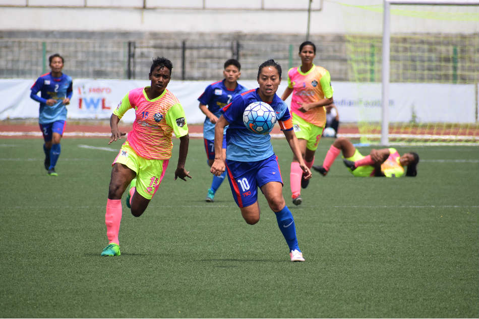 Women's Football team in India