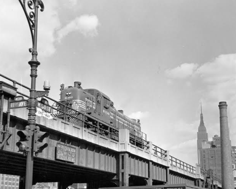 Long before the parks and art galleries, the High Line had a more practical purpose