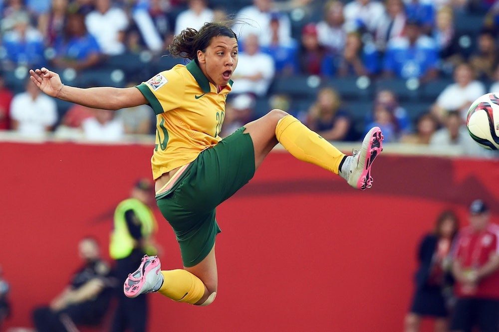 Sam Kerr's explosive firepower will be key to the Matildas getting out of a stiff Group C